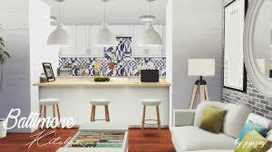 Pyszny Design Sims 4 Baltimore Kitchen By Pyszny Teh Sims Home Decor