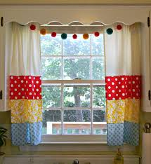 pretty retro kitchen curtains