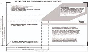 Postal Size Requirements Print Copy Factory