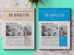 Business Newsletter Template Adobe Indesign Templates For Designers