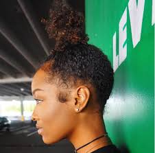 Topknot Hair Style fabulousbre top knot curly hair buns galore pinterest 8354 by wearticles.com