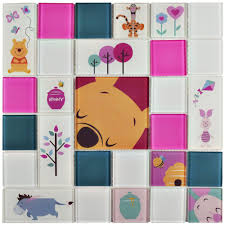 disney pooh and friends pink 11 3 4 in x 11 3