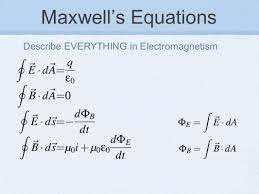 chapter 32 maxwell s equations electromagnetic waves 2 maxwell s equations describe everything in electromagnetism