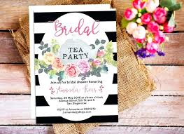 Tea Invitations Printable Tea Party Invitations Floral Tea Party Invitations Bridal Shower Tea