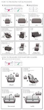 Measuring Guide For Slipcovers Chairs Loveseats Sofas