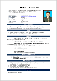 Resume Template Download Microsoft Word Resume Template Download