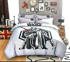 star wars comforter queen duvet cover bed sheets twin cotton new 4 boys bedding set size