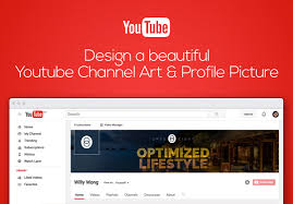 Design A Beautiful Youtube Channel Art And Profile Picture For 10 Kywong85 Fivesquid