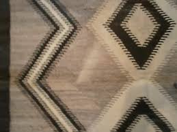 vintage antique 1890 1920 s two grey hills navajo rug l 70 w