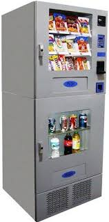 Seaga Vending Machine Manual Beauteous Seaga VC48 Combo Break Center Vending Machine 48 Snacks48 Sold