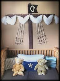 Pirate Bedroom Decor Boys Bed Crib Canopy Rustic Pirate Ship Design Barn Wood Bedroom