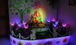 ganesh chaturthi 2016 simple yet insanely beautiful decoration