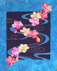 Quilt Inspiration: Exotic flower quilts: Paradise Stitched, by ... & Sylvia has so many fabulous quilt kits and patterns on her website - Sylvia  Pippen Designs - that it's difficult to select favorites. Adamdwight.com