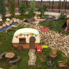 campsite fairy garden