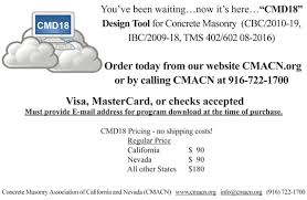 Uc Davis Ge Chart Concrete Masonry Association Of California And Nevada