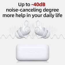 <b>Bluedio NE Silicone</b> Earplugs -40dB Noise Reduction Sound ...