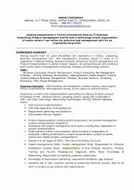 System Analyst Resume Unique 20 Business Analyst Resume Examples