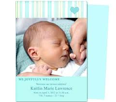 Sample Baby Announcement Baby Birth Announcement Photo Template Born Free Download Relod Pro