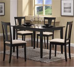 terrific cool small dining sets 7 round oak table kitchen 4 chairs room delightful picture