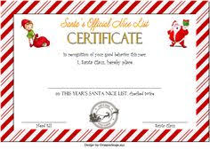 Choose from 4,213 printable design templates, like certificate posters, flyers, mockups, invitation cards, business cards, brochure,etc. 12 Nice List Certificate Free Printable Ideas Nice List Certificate Santa S Nice List Free Printables