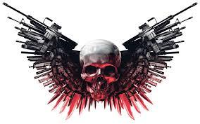 skulls and guns wallpaper 56 pictures