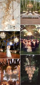 chandeliers inspired vintage rustic wedding reception lighting ideas g75 reception