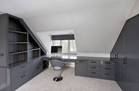 black and white office. Black Smoke Grey Office Wardrobes And White