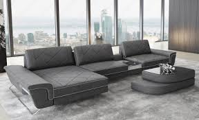 leather left ssline sectional sofa