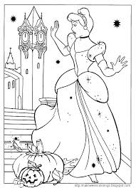 Small Picture Disney Halloween Coloring Pages Printable Disney Coloring