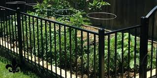 wrought iron garden fence staggering short home decoration ideas 2