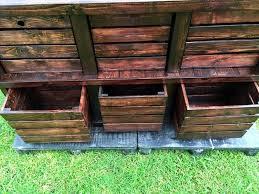 diy pallet crate diy pallet wood and crate dresser 10 pallets