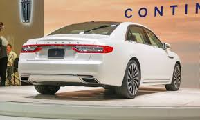 new car release for 20162017 Lincoln Continental First Look Review
