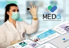Meddi L Medical Powerpoint Template L Healthcare Infographics Template L Medi Care Power Point Presentation Templates