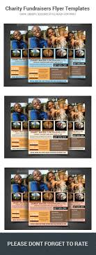 charity fundraisers flyer templates by sanaimran graphicriver charity fundraisers flyer templates flyers print templates