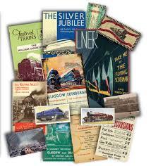 steam trains memorabilia gift pack