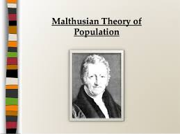 population theory com malthusian theory of population source slideshare net