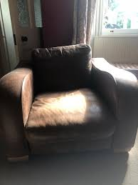 john lewis brown antique leather armchair perth
