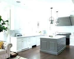Kitchens With Grey Cabinets New Gray White Cabinets Grey T With Kitchen Black Backsplash Light Finit