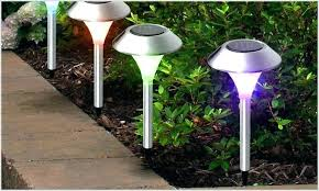 color changing solar garden lights. Colored Solar Landscape Lights Best Of Yard Or Garden Color Changing Path . A