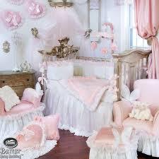 Glenna Jean Baby Girl Princess Chic Victorian Crib Nursery Bed Quilt Bedding  Set