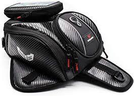 WOSAWE Motorcycle Tank Bag PU Leather Motorbike ... - Amazon.com