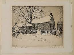 Sold Price: Ivan Summers etching - June 6, 0113 9:30 AM EDT
