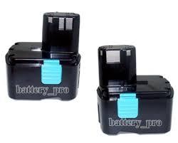 hitachi 6 0ah battery. 2 li-ion battery for 14.4v 3ah hitachi wh 14d,wh 14da, 6 0ah i