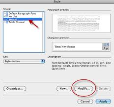 Change The Default Font And Spacing In Mac Word
