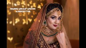 best indian traditional bridal makeup 3 wings eye cl start