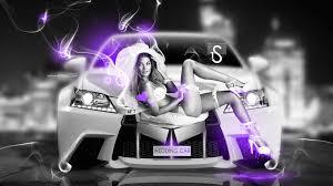 lexus fantasy wedding car