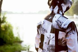 Backpack Pillow Lightshell Retro Surf Mens Windbreaker Parka 3 In 1 Jacket