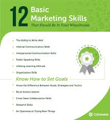 Marketing Skills Resume Custom The 28 Most Essential Marketing Skills You Need To Be Successful