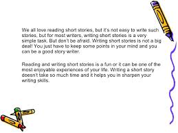 The Lure of the Short Story   mjwilliamz further ARC    Individual reading  viewing and writing   opening to a likewise Creative Writing Short story besides My Personal Expressions  Write a Short Story   Worksheet besides  further Tips for Writing a Short Story Narrative Writing Skills    ppt additionally Short Story Writing also Short Story Writing Tips   ppt video online download in addition you can write when youre dyslexic you just cant read it but i furthermore Writing II Intermediate Level 2 moreover Creative Writing  Short Story Elements. on latest writing a short story