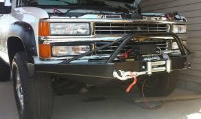All Chevy chevy 1500 prerunner : Chevy 1500 2500 3500 Front Pre-Runner Winch Bumper 88-98